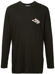 Les Benjamins Unmeo Long Sleeve Top Black