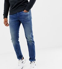 G Star 3301 Slim Jeans Medium Ages Medium Aged Blue