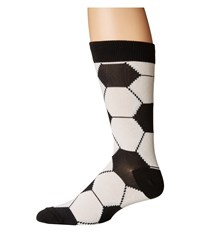 Socksmith Goal White Crew Cut Socks Shoes