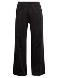 Givenchy Applique Panel Jersey Track Pants Black