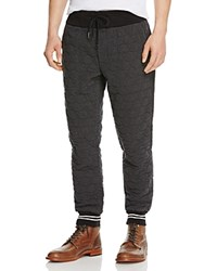 Moncler Quilted Hookup Jogger Pants Charcoal