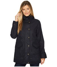 Filson Pinedale All Season Rain Jacket Navy Women's Coat