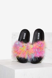 Fair Feather Friend Slide Sandal Multi