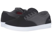 Emerica The Romero Laced Black Grey Men's Skate Shoes