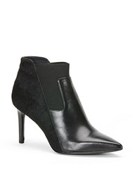 Rachel Zoe Heidi Calf Hair And Leather Booties Black