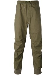 Mhi Maharishi Drawstring Trousers Men Cotton S Green