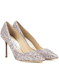Jimmy Choo Romy 85 Glitter Pumps Pink