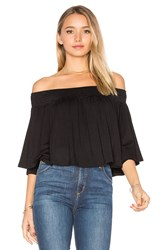 Vava By Joy Han Jessie Top Black
