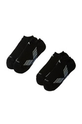 Adidas Climacool X Ii Socks Pack Of 2 Black