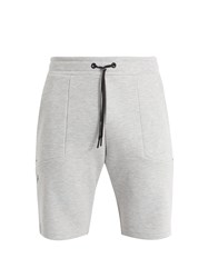 Peak Performance Tech Mid Rise Track Shorts Grey