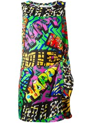 Moschino Happy Print Dress