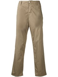 Haikure Cropped Chinos Neutrals