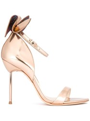 Sophia Webster Bow Detail Sandals Nude Neutrals