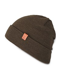 Bickley And Mitchell Merino Wool Turncuff Beanie Army