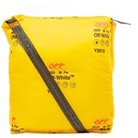 Off White Industrial Oversize Bag Yellow