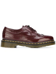 Dr. Martens Ridged Sole Brogues Pink And Purple