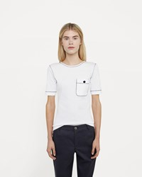 Vanessa Seward Button Pocket T Shirt