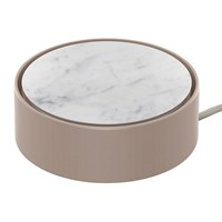 Native Union Eclipse 3 Port Usb Charger Marble White
