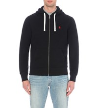 Ralph Lauren Zip Up Cotton Blend Hoody Polo Back