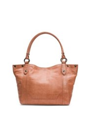Frye Melissa Leather Shoulder Bag Dusty Rose