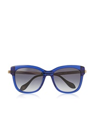 Vivienne Westwood Sunglasses With Gold Arms Blue Blue