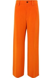 Marni Crepe Pants Orange