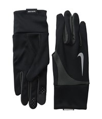 Nike Dri Fit Tailwind Run Gloves Black Anthracite Athletic Sports Equipment Multi