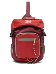 Burberry Mini Cross Body Backpack Red Multi
