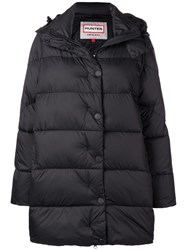 Hunter Padded Hooded Coat Black
