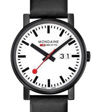 Mondaine A6273030361sbb Evo Big Stainless Steel Watch White