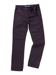 Criminal Marine Straight Leg Chino Plum