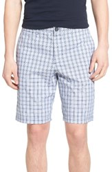 Original Penguin Men's Slim Fit Plaid Shorts