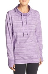 Zella Women's 'Wilderness' Sweatshirt Purple Jelly Heather