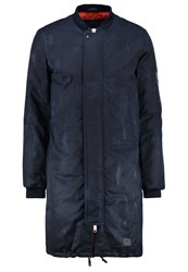 Brixtol Bomber Jacket Navy Dark Blue