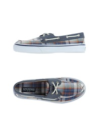 Sperry Top Sider Moccasins Blue