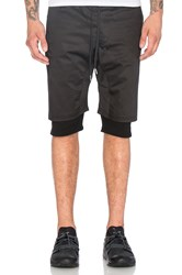 Stampd Double Layer Short Black