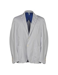 Domenico Tagliente Blazers Light Grey