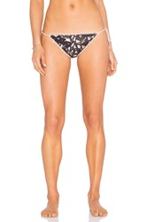 Somedays Lovin Field Of Dreams Triangle Bikini Bottom Black