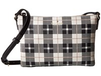 Kate Spade Hawthorne Lane Plaid Carolyn Light Shale Handbags Multi