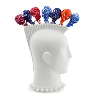 Jonathan Adler Mohawk Lollipop Holder White