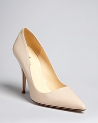 Kate Spade New York Pointed Toe Pumps Licorice High Heel Powder