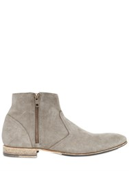 Pete Sorensen Washed Suede Ankle Boots