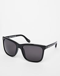 Vivienne Westwood Oversized Sunglasses With Studding Black