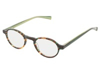 Eyebobs Board Stiff Green Tort Dark Green Temple Reading Glasses Sunglasses Multi