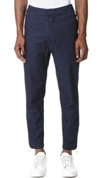Public School Festhal Chambray Camme Flight Trousers Indigo