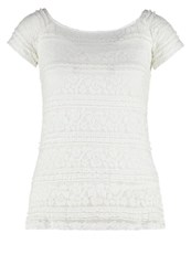 Dorothy Perkins Print Tshirt Cream Off White