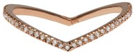 Eva Fehren Rose Gold Diamond Private Ring