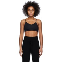 Live The Process Black Corset Sports Bra