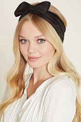 Forever 21 Accordion Pleated Bow Headwrap