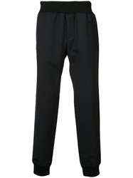 A.P.C. Ribbed Cuff Trousers Men Virgin Wool M Black
